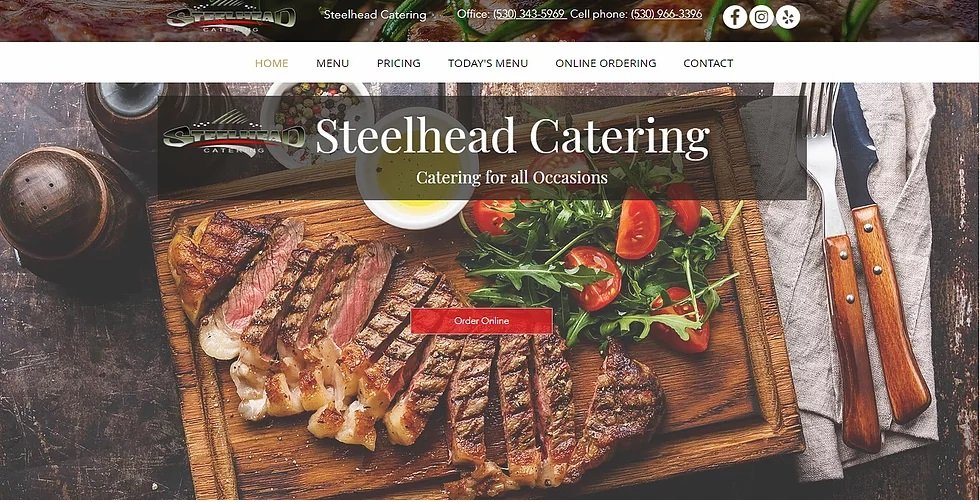 Steelhead catering